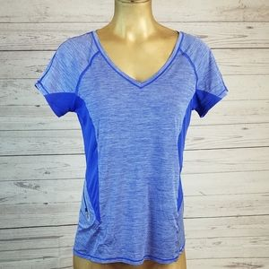 Athleta Forerunner Tee in Purple Small
